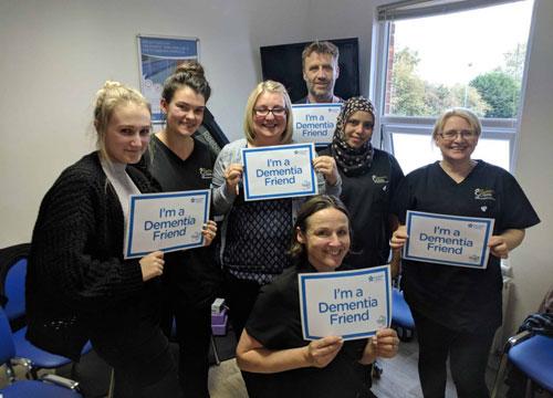 Dementia Friends! | The Nantwich Clinic | Health Care & Self Care | Nantwich | Cheshire