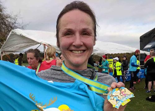 Gill finishes Run Tatton! | The Nantwich Clinic | Health Care & Self Care | Nantwich | Cheshire